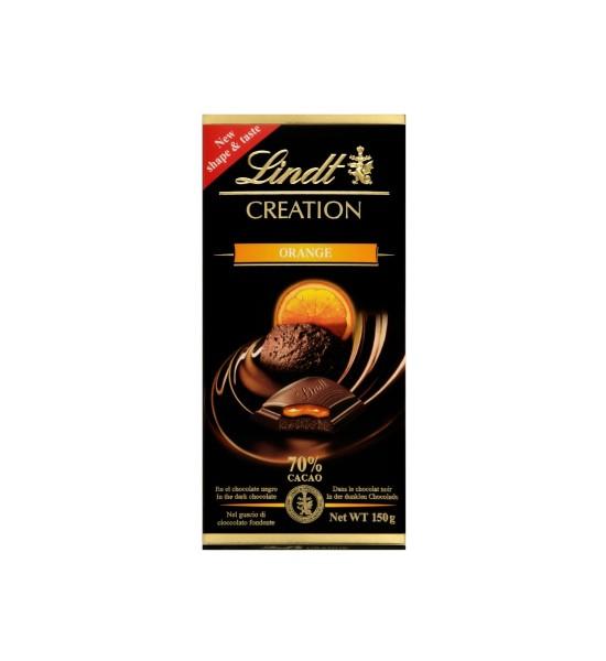 Lindt Creation Orange Coulis 70% Cacao 150 g