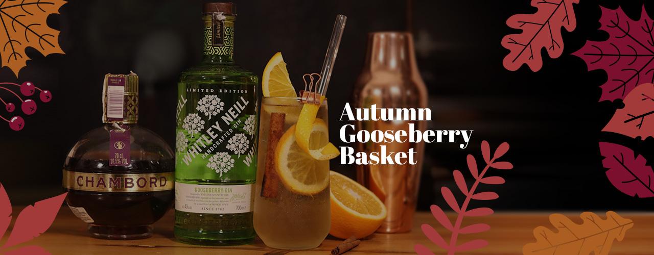 Autumn Gooseberry Basket