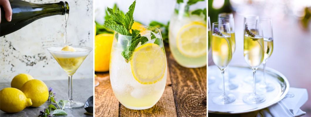 Cocktailuri pe bază de Limoncello // deliciul verii