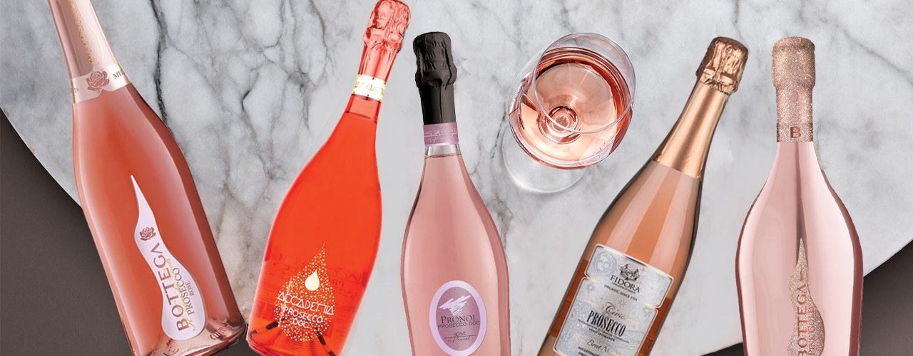 New PINK in town! Prosecco Rosé