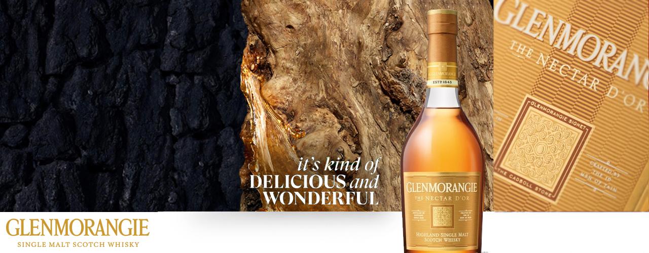 Glenmorangie The Nectar d'Or Sauternes Cask Finish