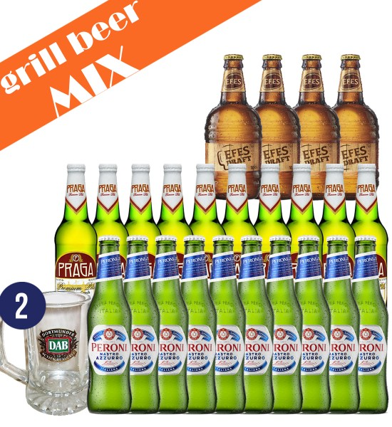 Party Box GRILL BEER MIX