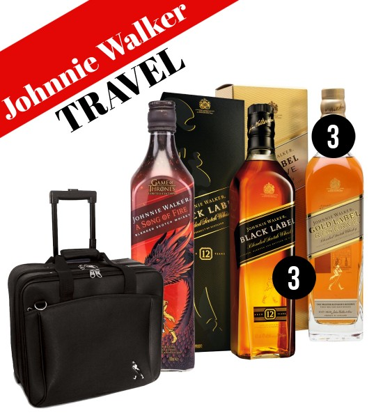 Party Box  JOHNNIE WALKER TRAVEL