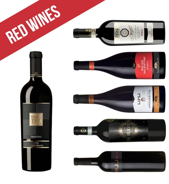 Party Box CHOICE OF RED WINES HIGH QUALITY
