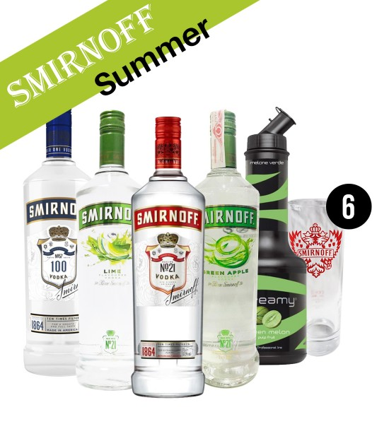 Party Box SMIRNOFF SUMMER DRINK