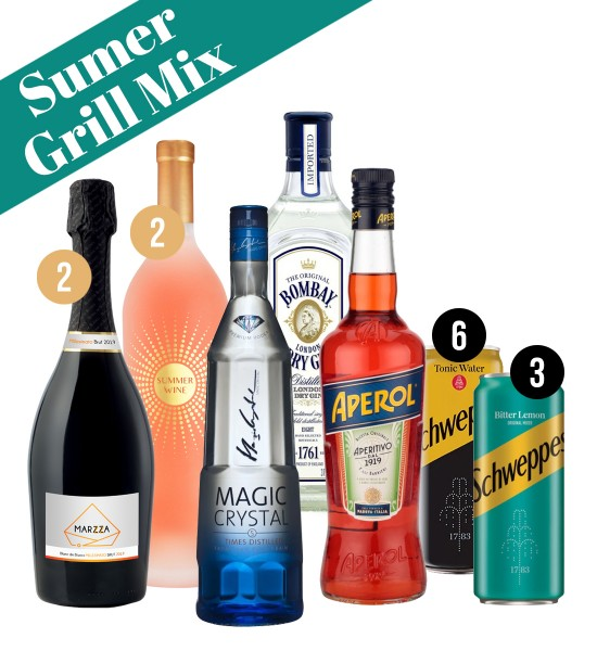 Party Box SUMMER GRILL MIX
