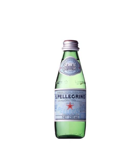San Pellegrino apa minerala naturala carbogazoasa 0.25L