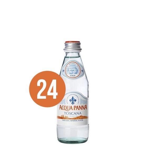 Acqua Panna apa naturala plata BAX x 24 st. 0.25L