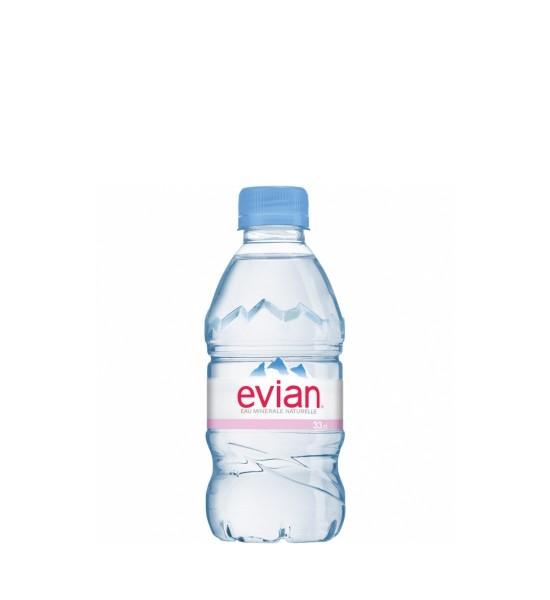 Evian apa minerala naturala plata 0.33L