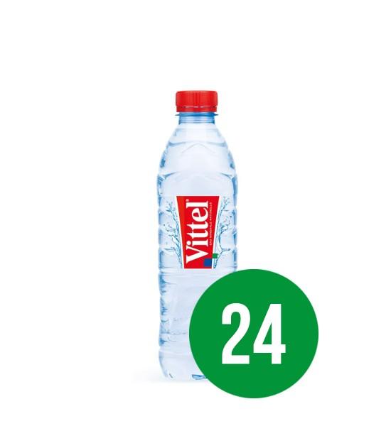 Vittel apa minerala naturala plata BAX 24 fl. x  0.5L