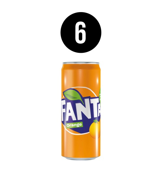 Fanta Orange BAX 6 dz. x 0.33L