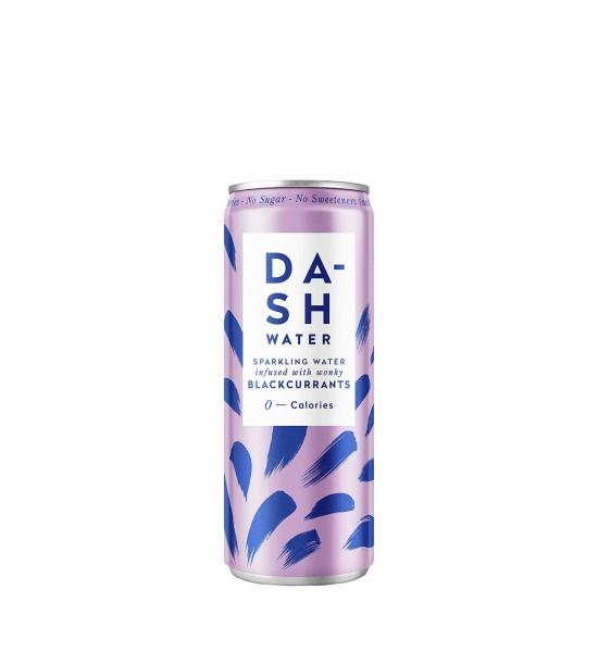 Dash Water Sparkling Spring Water Blackcurrants 0.33L