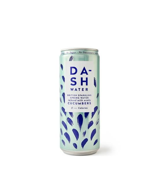 Dash Water Sparkling Spring Water Cucumbers 0.33L