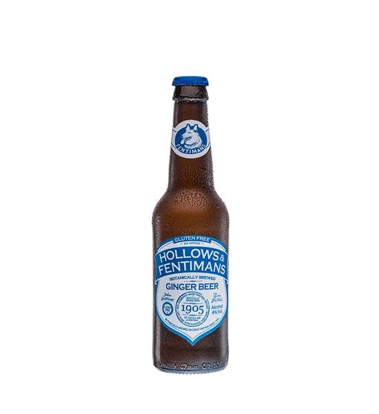 Hollows & Fentimans Ginger Beer 0.33L