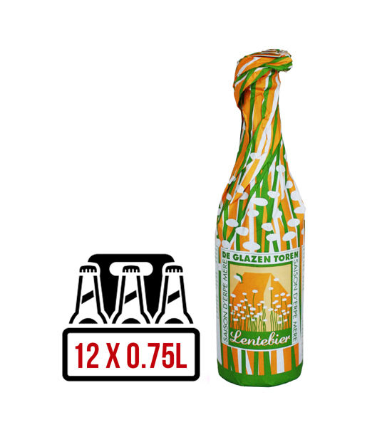 De Glazen Toren Lentebier BAX 12 st. x 0.75L