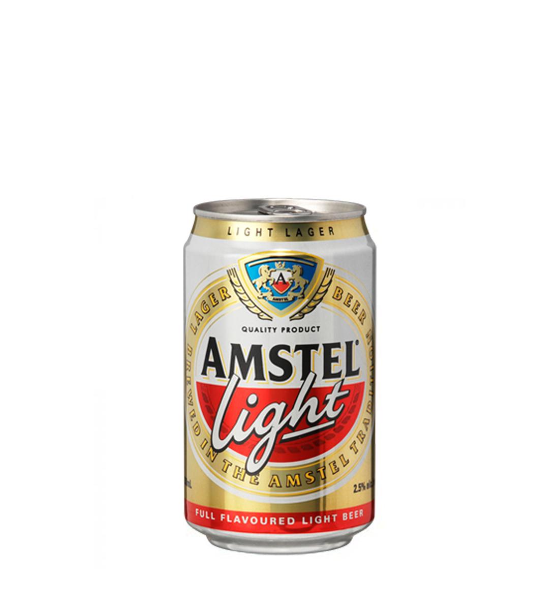 Amstel Light Premium Lager 0.33L