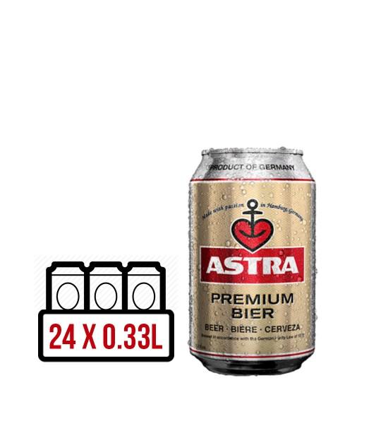 Astra Premium Bier BAX 24 dz. x 0.33L