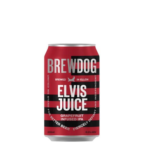 Brewdog Elvis Juice Grapefruit Infused Ipa 0.33L