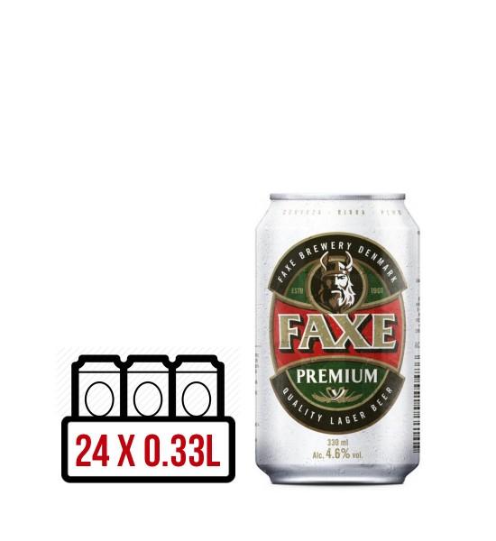 Faxe Premium Danish Lager BAX 24 dz. x 0.33L