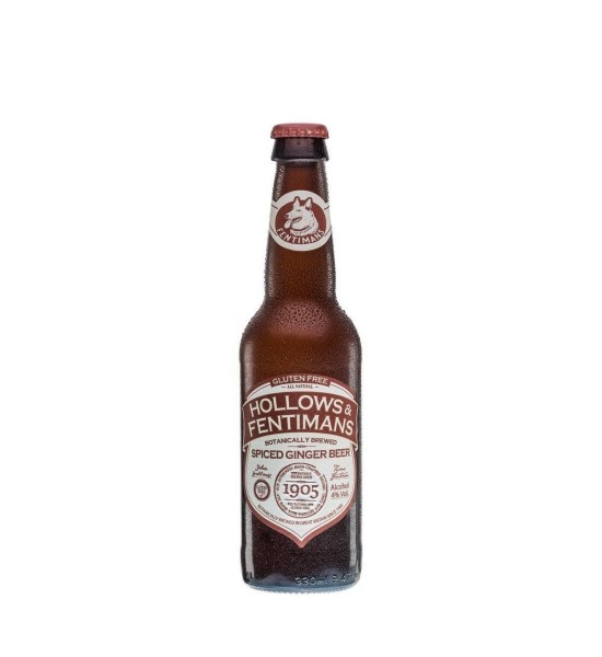 Hollows & Fentimans Spiced Ginger Beer 0.33L