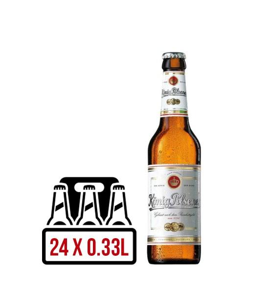 Konig Premium Pilsner BAX 24 st. x 0.33L