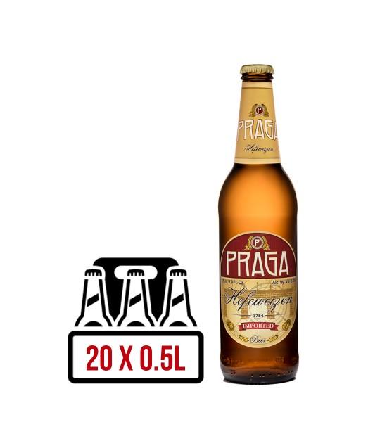 Praga Hefeweizen BAX 20 st. x 0.5L