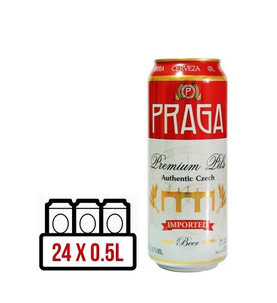 Praga Premium Pils BAX 24 dz. x 0.5L