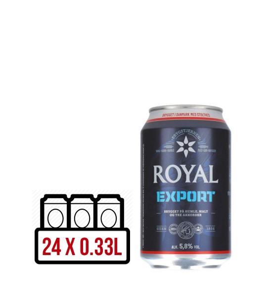 Royal Export BAX 24 dz. x 0.33L