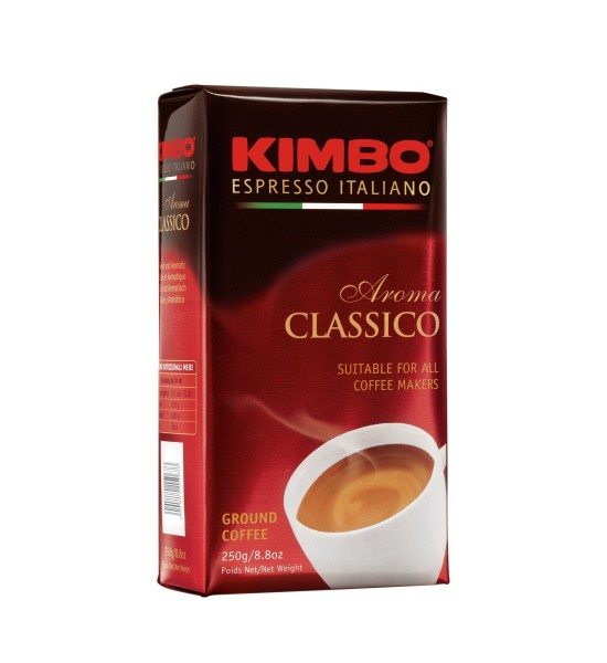 Kimbo Aroma Classico cafea macinata 250 g