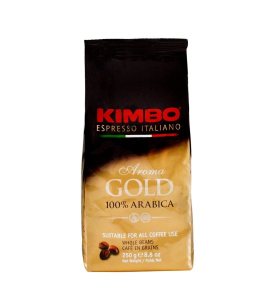 Kimbo Aroma Gold cafea boabe 250 g