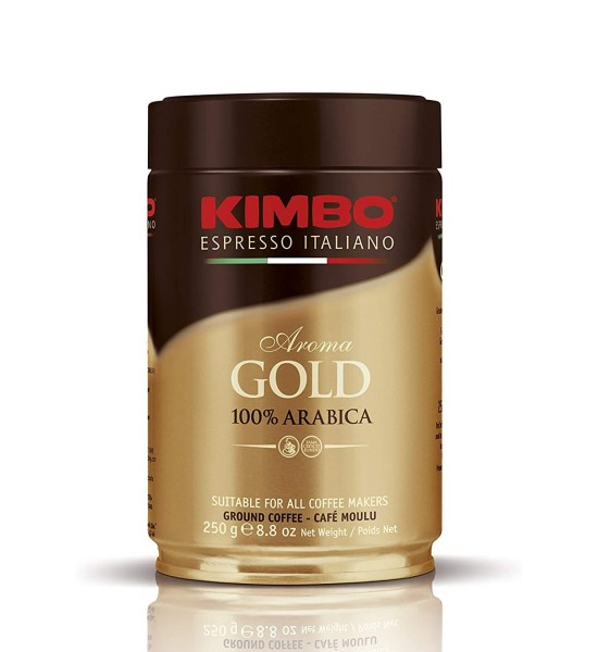 Kimbo Aroma Gold cafea macinata 250 g