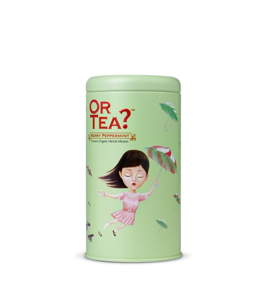 Or Tea Merry Peppermint Premium Organic Loose Tea 75g