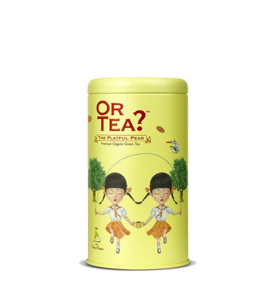 Or Tea The Playful Pear Premium Organic Green Tea 85g