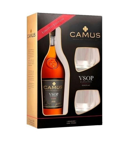Camus Elegance VSOP Gift Set 0.7L