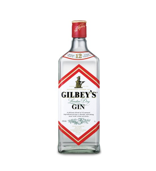 Gilbey's London Dry Gin 1L