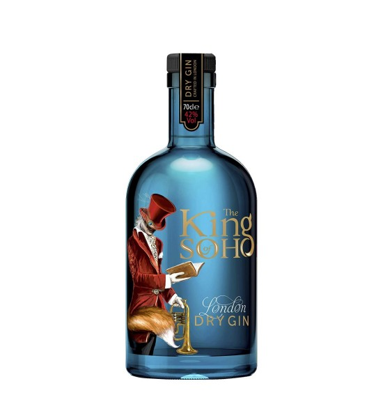 King of Soho London Dry Gin 0.7L