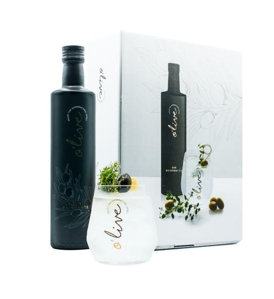 O'live Gin Gift Set 0.5L