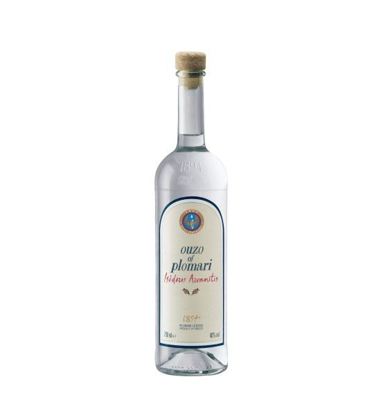 Ouzo Plomari Isidoros Arvanitis 0.7L