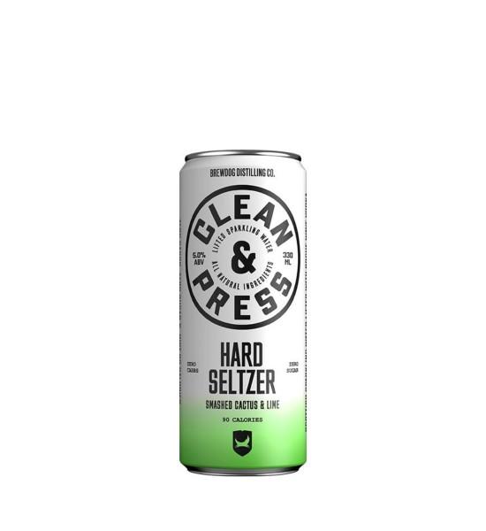 Brewdog Hard Seltzer Smashed Cactus & Lime 0.33L