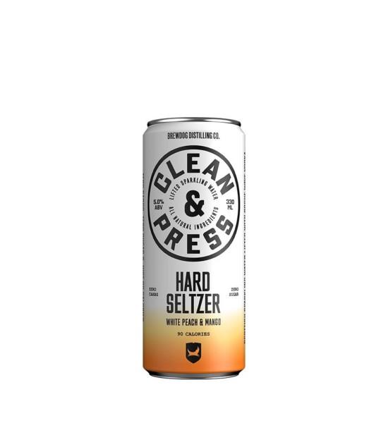 Brewdog Hard Seltzer White Peach & Mango 0.33L