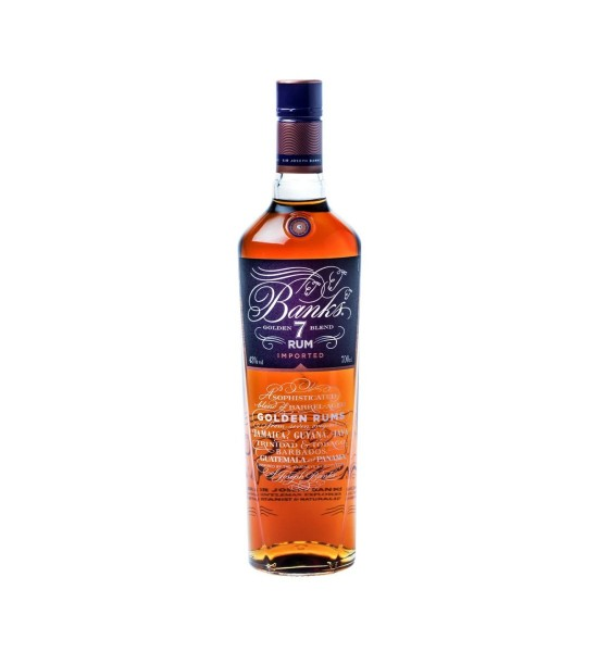 Banks Golden 7 age Blend Rum 0.7L