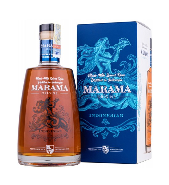 Marama Origins Spiced Indonesian Spiced Rum 0.7L