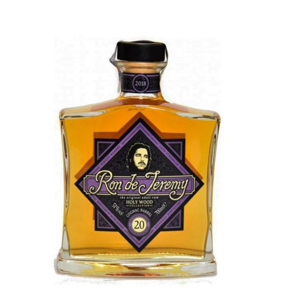 Ron Jeremy Holy Wood Collection Cognac Barrel 20 ani 0.7L