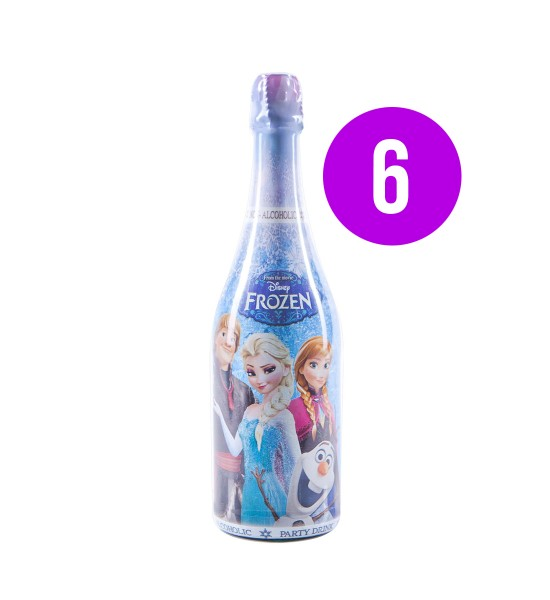 Vitapress Sampanie Copii Frozen Struguri BAX 6 st. x 0.75L