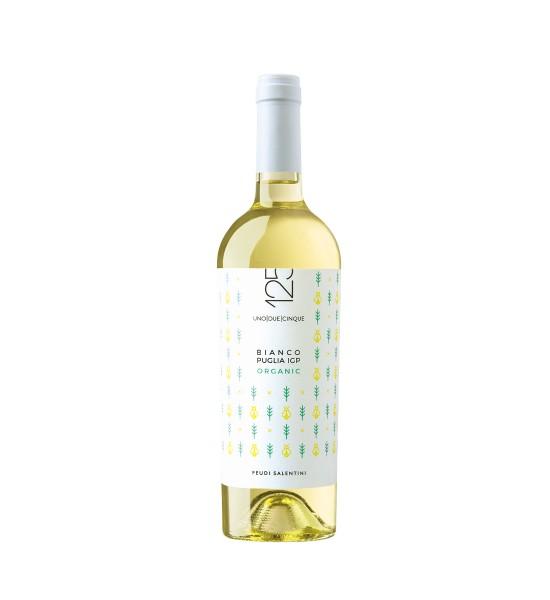 Feudi Salentini 125 Bianco Organic Puglia IGP 0.75L