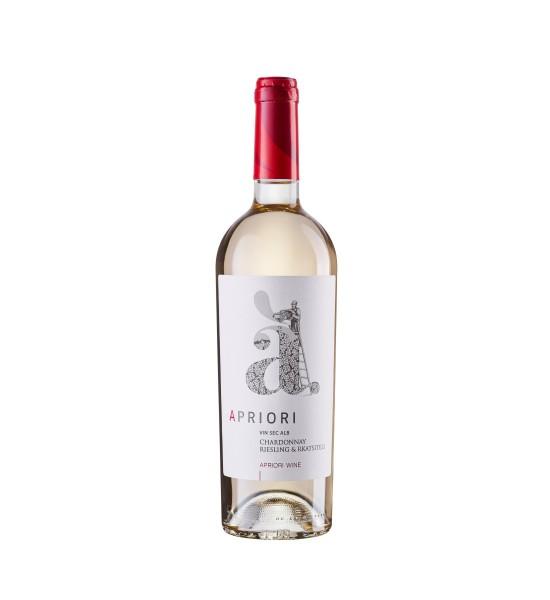 Apriori Cupaj Alb Chardonnay & Riesling & Rkatsiteli 0.75L