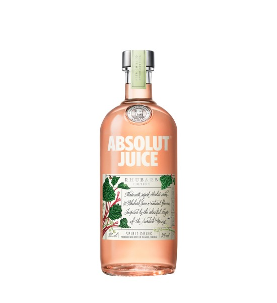Absolut Juice Rhubarb Edition 0.5L