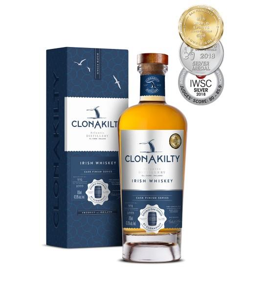 Clonakilty Single Batch Double Oak Finish Irish Whiskey 0.7L