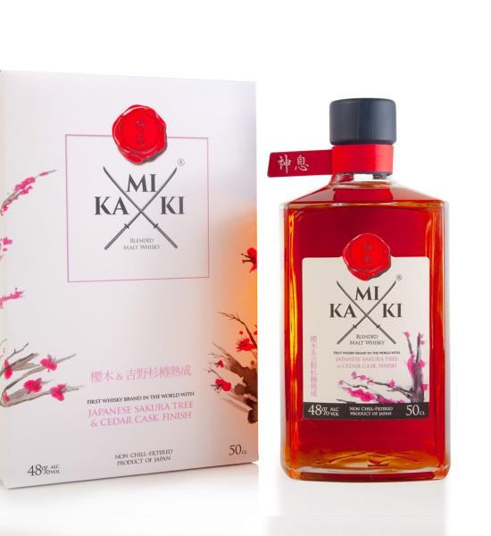 Kamiki Sakura Cedar Cask Blended Malt Whisky 0.5L