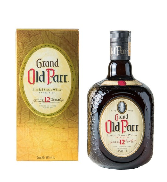 Grand Old Parr 12 ani 1L